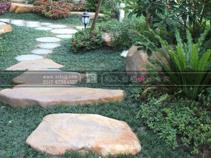 无锡威尼斯花园庭院景观设计_法式风格_精品案例_苏州
