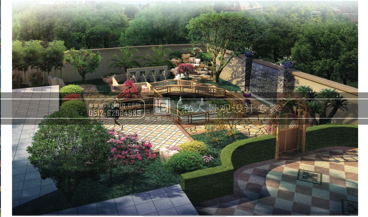 总别墅庭院设计