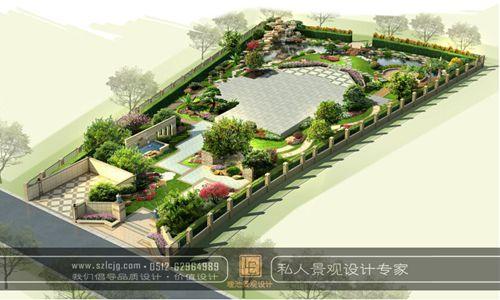 别墅庭院设计_精品案例_苏州理池景观规划设计事务所