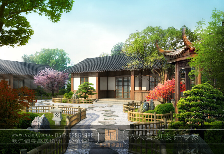 徐州沛县张总宅基地建筑及景观设计_苏式园林景观设计图片