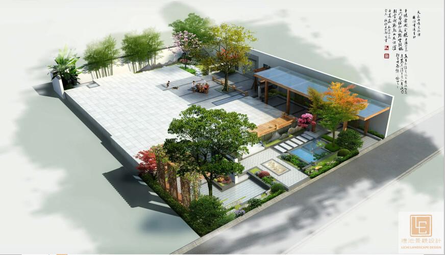 李女士庭院景观设计