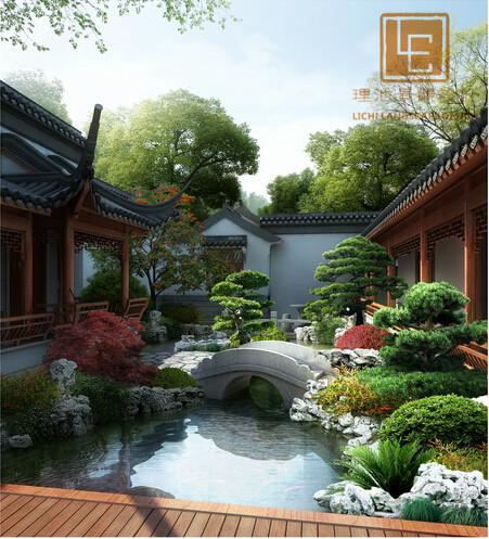 宁波会所景观规划设计_别墅庭院设计_精品案例_苏州理