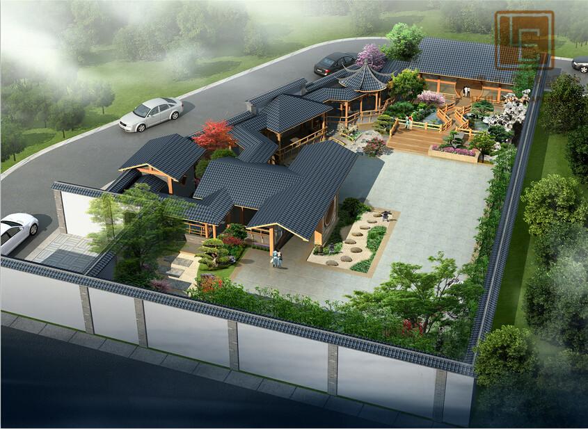 5 设计取费:11万 设计师:李航 设计风格:新中式风格 设计理念